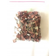 полкодержатель коричневый пластиковый метал ZR10 (ящик 2000 уп 100