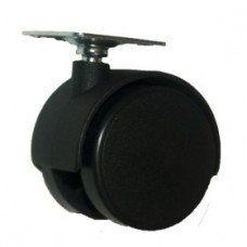 колеса мебельная на площадке поворотная 50 501В  (ЯЩИК 400(25КГ