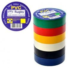 Изолента синия  PVC RUGBY 10м (500) (10), шт