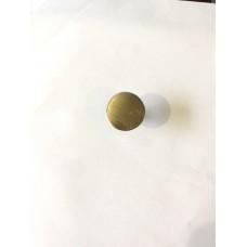 Ручка кнопка металлическая бронза RO12AB (ящ 1000 уп 100)