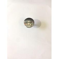 Ручка кнопка металлическая хром RO12CP (ящ 1000 уп 100)