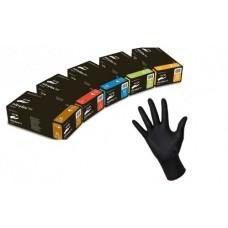 Перчатки медицинские Nitrytex Black черные разм. L (500)