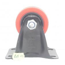 Колеса на площадке не поворотная красно-черная GB-65   (ЯЩИК 50(60КГ