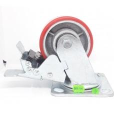 Колеса тонная поворотная с тормозом BB-100(ящик 20(270кг