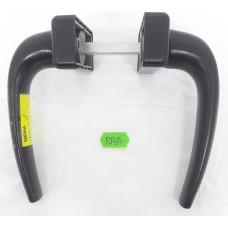 Ручка для металлопластиковых дверей черная RP2-B