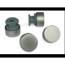 зеркалодержатель металлический набор 4 штуки большие  сатин ZR3 SN (ящик 200 уп 20