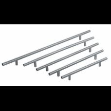 Ручка рейлинговая металлическая сатин RO13-160SN (ящ 160 уп 20)