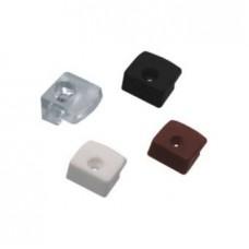 зеркалодержатель прозрачный пластиковый  ZR12((ящик 5000 уп 500