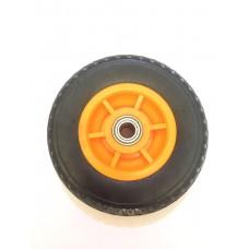 Колеса для тачке черно-оранжевая с подшипником 17  200  H-1 (ящик 25 160кг