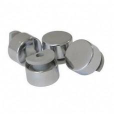 зеркалодержатель металлический набор 4 штуки маленький хромZR2 CP(ящик 240 уп 24