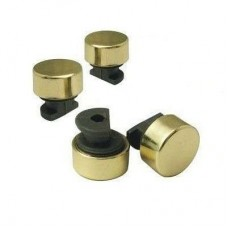 зеркалодержатель металлический набор 4 штуки маленький бронз ZR2AB (ящик 240 уп 24