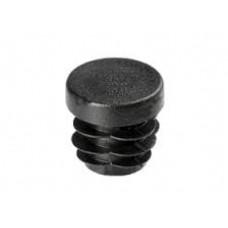 Заглушка для отверстий трубы  круглая черная ZG 20м (200)