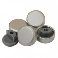 зеркалодержатель металлический набор 4 штуки маленький сатин ZR2 SN (ящик 240 уп 24