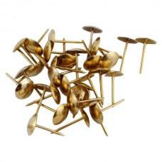 гвозди обивочные золото N2