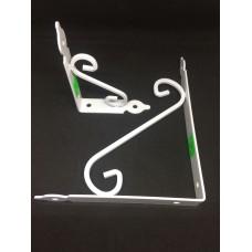 Уголок мебельный белый усиленный декоративный YGD14*19 (ящ 96 уп 12) 140*190мм