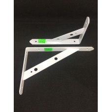 Уголок мебельный белый усиленный YGTX10 (ящ 30пар уп 5пар) 160*250мм