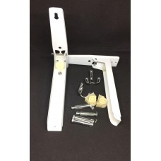 Уголок для микроволновки белый YGMK1 (ящ 24комп) 230*370v