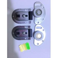 Раздвижная система для шкаф-купе LC40  набор роликов для одной двери  весь до 40кг