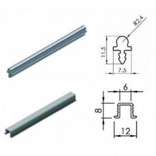 Рельса для для раздвижной системы верхняя L3124
