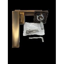 Ручка на розетке алюминий кофе RZ102MSF (ящ 20)