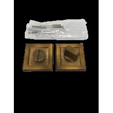 Накладки дверная под фиксатор квадратная кофе матовый NK100MSF