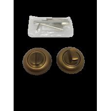 Накладки дверная под фиксатор круглая кофе матовый NK102MSF