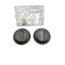 Накладки дверная под цилиндр круглая сатин/хром NK103SNCP