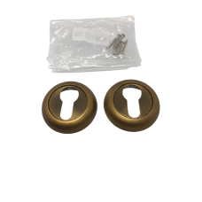 Накладки дверная под цилиндр круглая кофе матовый NK103MSF