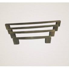 Ручка рейлинговая металлическая бронза RO819-128AB