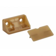уголок мебельный двойной дуб  пластиковый YG2 (ящик 1000 уп 100