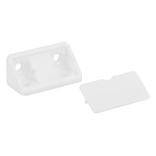 уголок мебельный двойной белый пластиковый YG2 ((ящик 1000 уп 100