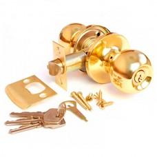 Замок дверной джанес золото 607GP